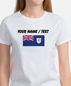 Custom Anguilla Flag T-Shirt