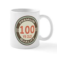100th Birthday Vintage Mug