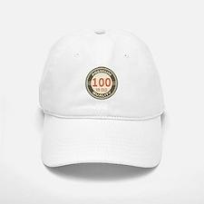 100th Birthday Vintage Baseball Baseball Cap