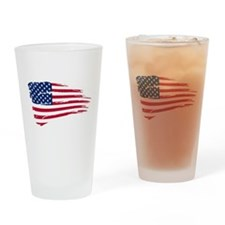 4th of July Drinking Glass