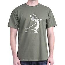 Kokopelli Hockey Player T-Shirt