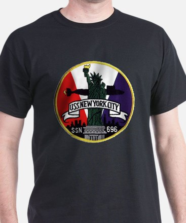 SSN 696 New York City T-Shirt