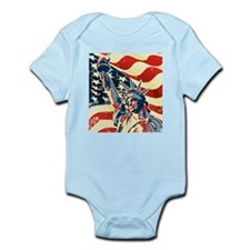 Happy Independence Day Body Suit