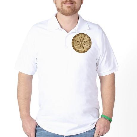 Old Compass Rose Golf Shirt