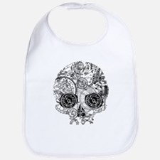 Clockwork Skull Bib