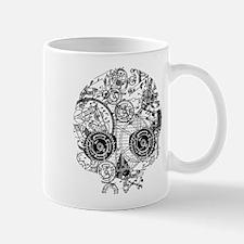 Clockwork Skull Mug