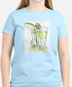 Absinthe Fairy Toying With Glass T-Shirt