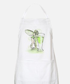 Absinthe Fairy Toying With Glass Apron