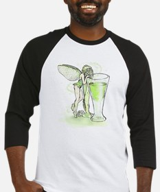 Absinthe Fairy Toying With Glass Baseball Jersey