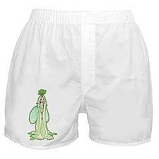 Green Fairy Princess Boxer Shorts