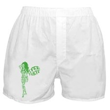 Swirly La Fee Verte Boxer Shorts