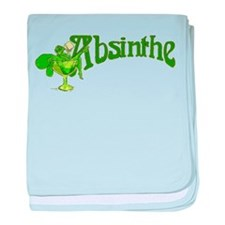 Fairy In Glass Absinthe baby blanket