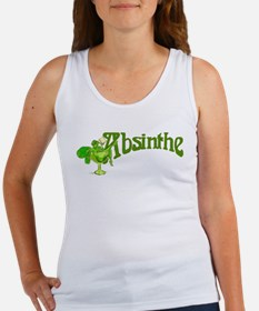 Fairy In Glass Absinthe Women's Tank Top