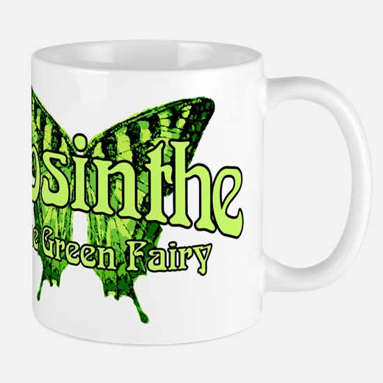 Absinthe The Green Fairy Wings Mug
