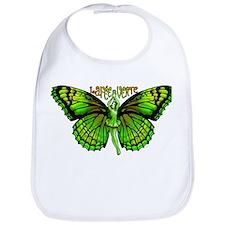 Green Fairy Wings Spread Bib
