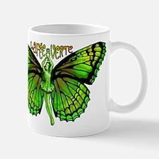 Green Fairy Wings Spread Mug
