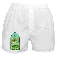 Art Nouveau Absinthe La Fee Verte Boxer Shorts