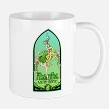 Art Nouveau Absinthe La Fee Verte Mug