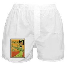 1890s Style Ophelia's Absinthe Boxer Shorts