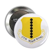 17th Bomb Wing Button