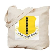 17th Bomb Wing Tote Bag