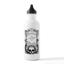 Ophelia's Very Bitter Absinthe Sports Water Bottle