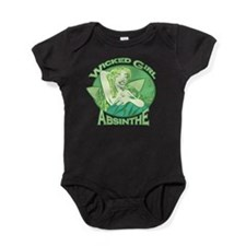 Wicked Girl Absinthe Baby Bodysuit