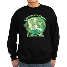 Wicked Girl Absinthe Sweatshirt