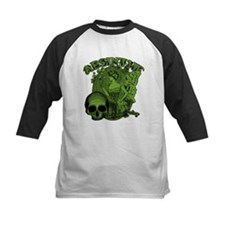 Absinthe Green Fairy Lady Collage Tee