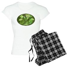 La Fee Verte In Glass Collage Pajamas