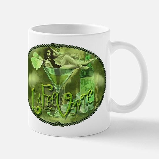 La Fee Verte In Glass Collage Mug