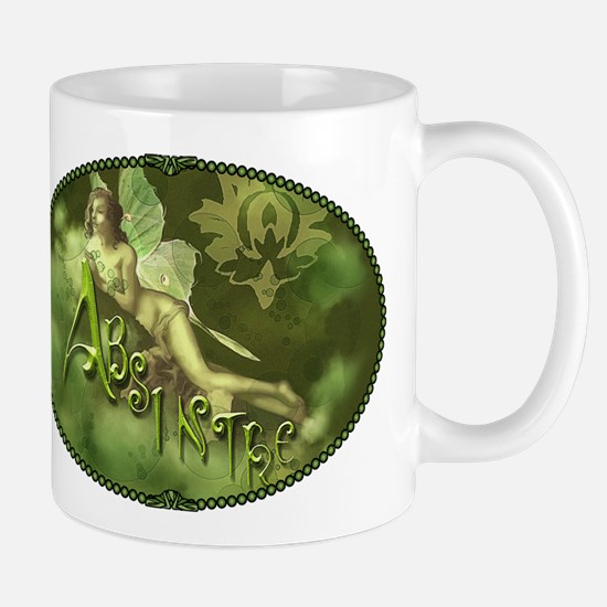 Absinthe Fairy Collage Mug
