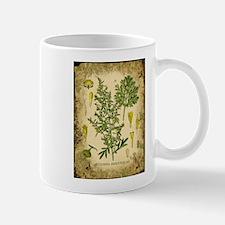 Absinthe Botanical Illustration Mug