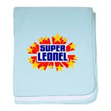 Leonel the Super Hero baby blanket
