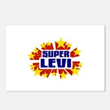 Levi the Super Hero Postcards (Package of 8)