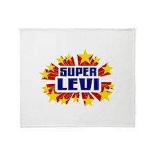 Levi the Super Hero Throw Blanket
