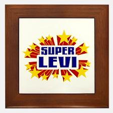 Levi the Super Hero Framed Tile