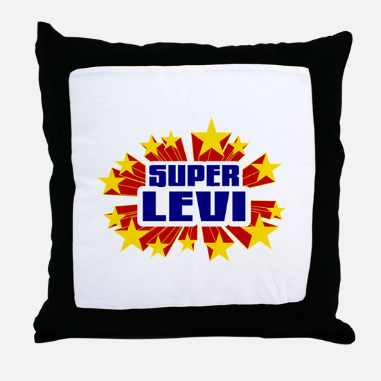 Levi the Super Hero Throw Pillow