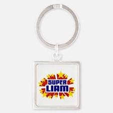 Liam the Super Hero Keychains