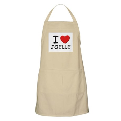 I love Joelle BBQ Apron