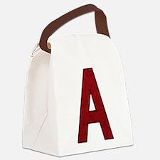 Scarlet Letter A Canvas Lunch Bag
