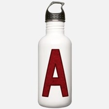 Scarlet Letter A Water Bottle