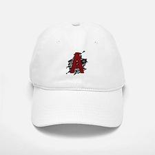 Black Lace Scarlet Letter A Baseball Baseball Cap