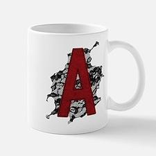 Black Lace Scarlet Letter A Mug