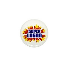 Logan the Super Hero Mini Button