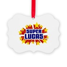 Lucas the Super Hero Ornament