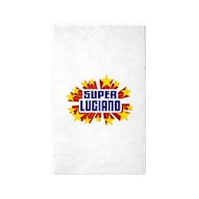 Luciano the Super Hero 3'x5' Area Rug