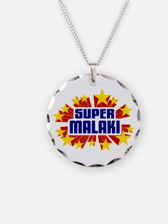 Malaki the Super Hero Necklace
