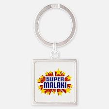 Malaki the Super Hero Keychains