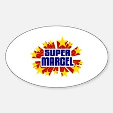 Marcel the Super Hero Decal